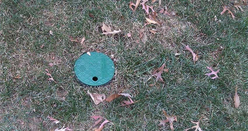 french drain in yard